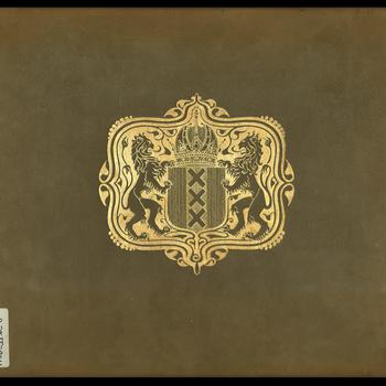 Album bij het geschenk van het schilderij van G.H. Breitner