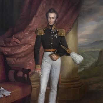 Portret van Frederik