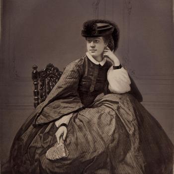 Alexine Tinne (1835-1869), fotografe en ontdekkingsreizigster, circa 1860-1865 / 1874