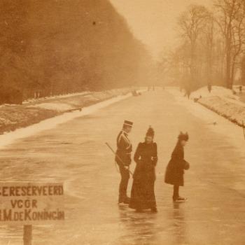 Een ijsbaan voor de koningin, 3 januari 1893