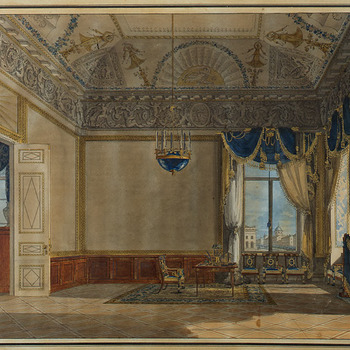 Werkkamer van grootvorstin Catharina Paulowna