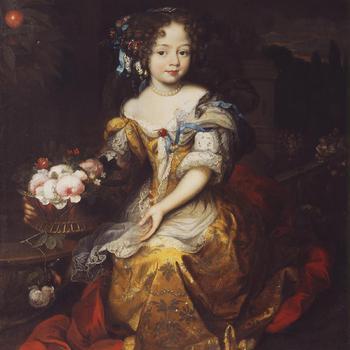 Portret van Elisabeth Albertine als kind
