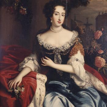 Portret van Maria II Stuart