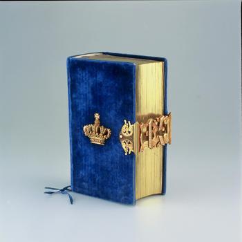 Kerkboekje van koningin Emma