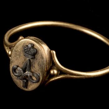 Ring van koningin Anna Paulowna