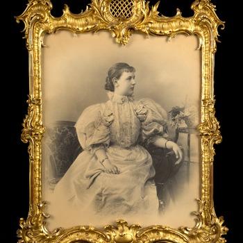 Koningin Wilhelmina, 14 februari 1896