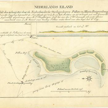 Kaart van het