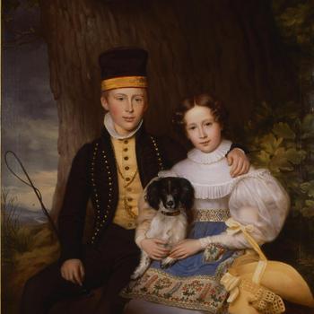 Portret van Hendrik en Sophie