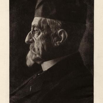 Portret van Jan Louis Krämer
