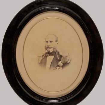 Prins Hendrik in marine-uniform, circa 1872