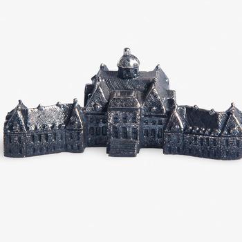 Zilveren miniatuur van het Koninklijk Paleis Huis ten Bosch