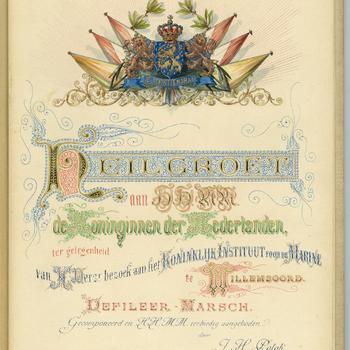 Heilgroet aan HH. MM. de Koninginnen der Nederlanden