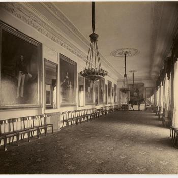 Paard in Paleis Noordeinde, 1893