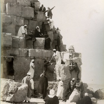 Gezichten in Egypte en Palestina, 1895