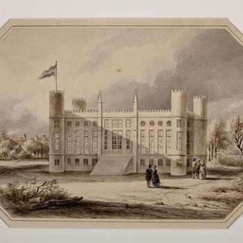 Het Paleis te Tilburg, 1848