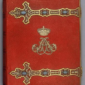 Fotoalbum van koningin Anna Paulowna (1795-1865), 1861