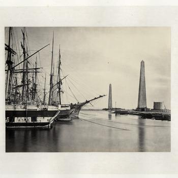 Gezichten op het Suezkanaal, 1869