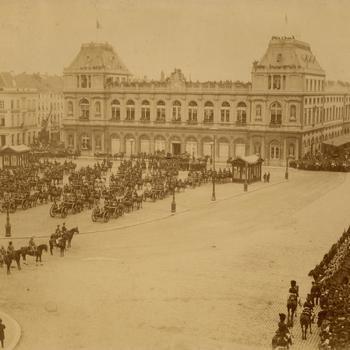 Hoog bezoek in Brussel, 20 mei 1884