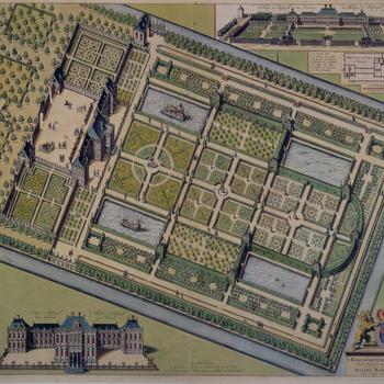 Huis ter Nieuwburg in Rijswijk, circa 1697
