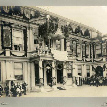Haagse hulde voor de koningin, 9 september 1898
