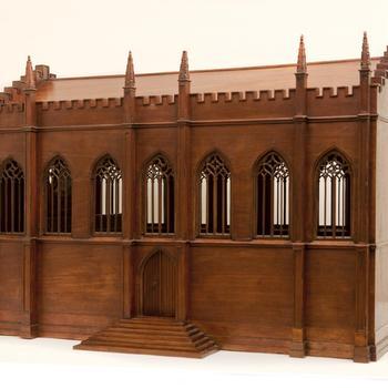 Maquette van de Gotische Zaal