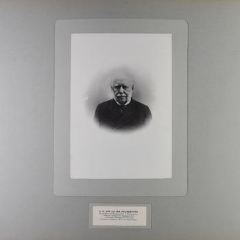 Portret van sir Julian Pauncefote