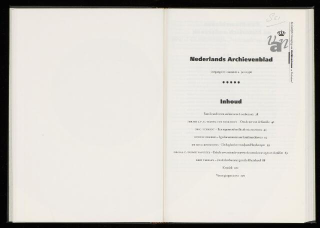 Nederlandsch Archievenblad 1996-06-01