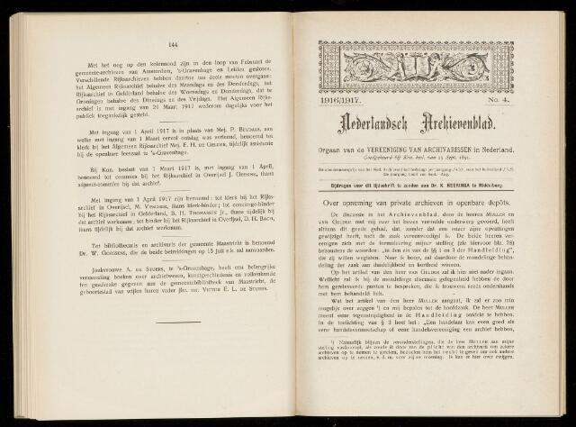 Nederlandsch Archievenblad 1916-09-04