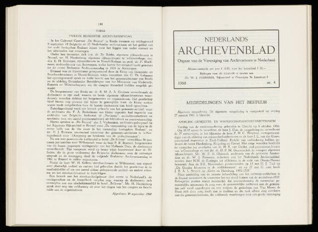 Nederlandsch Archievenblad 1961