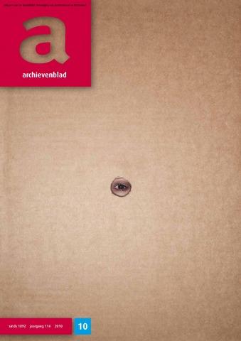 Archievenblad 2010-12-01