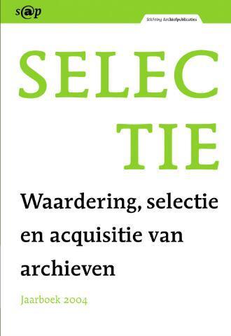 Jaarboeken Stichting Archiefpublicaties 2004