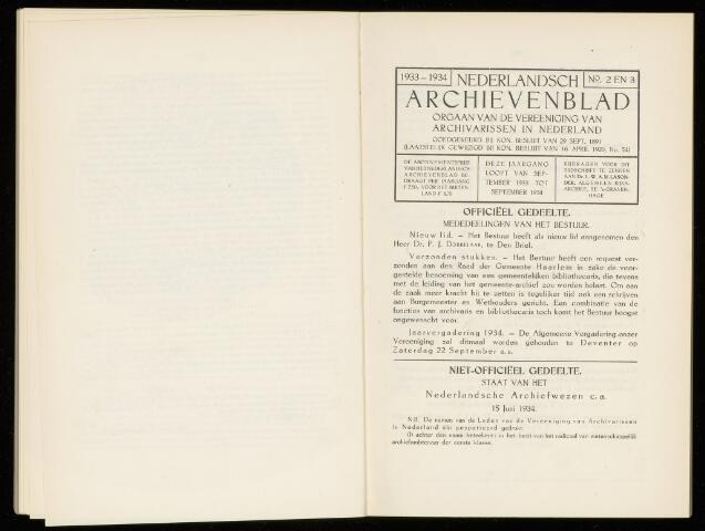 Nederlandsch Archievenblad 1934-07-01