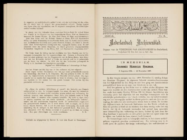 Nederlandsch Archievenblad 1898