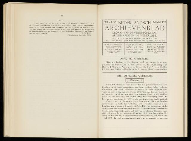 Nederlandsch Archievenblad 1932-05-01