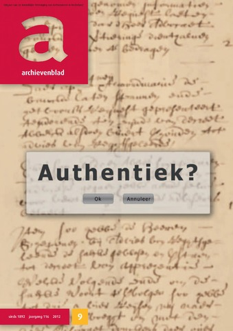 Archievenblad 2012-11-01