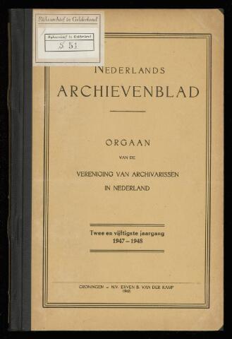 Nederlandsch Archievenblad 1948-01-01