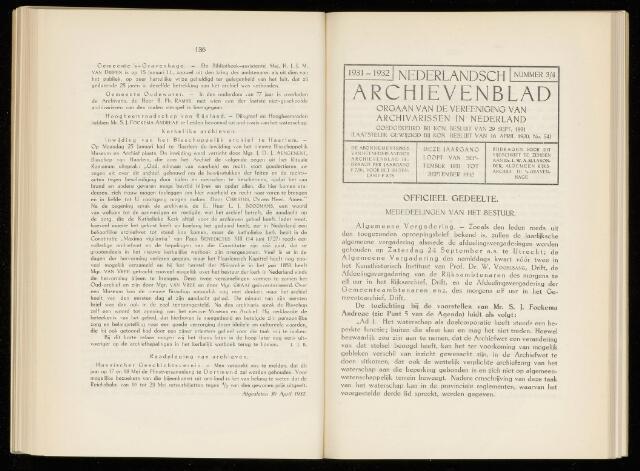 Nederlandsch Archievenblad 1932-09-01
