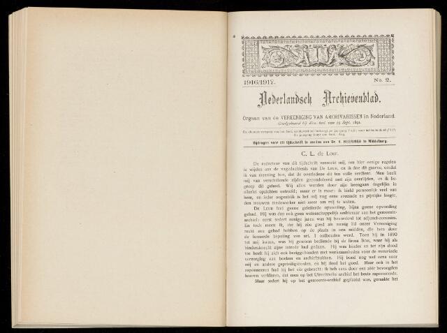 Nederlandsch Archievenblad 1916-09-02