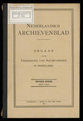 Nederlandsch Archievenblad 1933