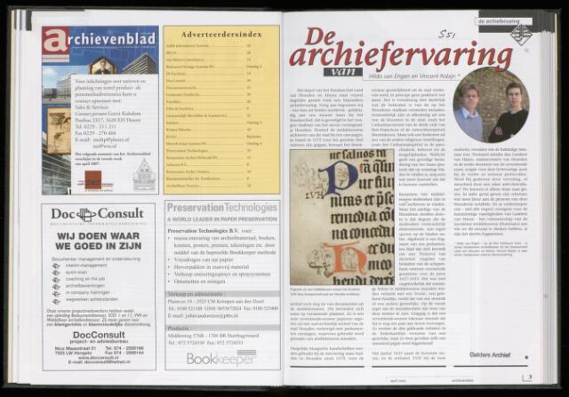 Archievenblad 2007-04-01