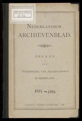 Nederlandsch Archievenblad 1895-06-01