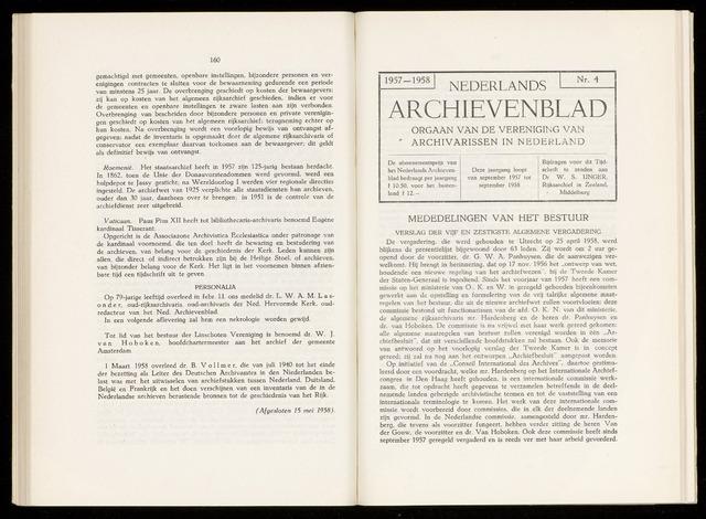 Nederlandsch Archievenblad 1958-09-01