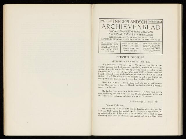 Nederlandsch Archievenblad 1931-05-01