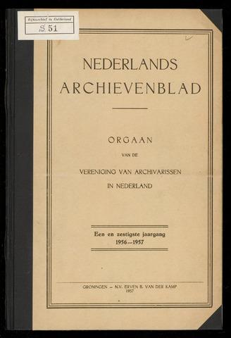 Nederlandsch Archievenblad 1956-12-01