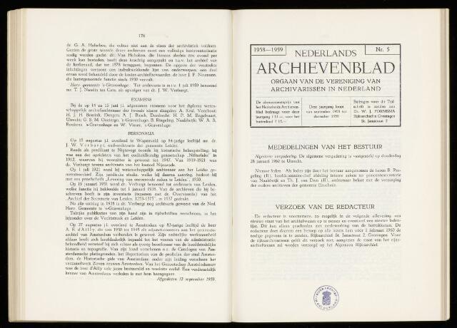 Nederlandsch Archievenblad 1960