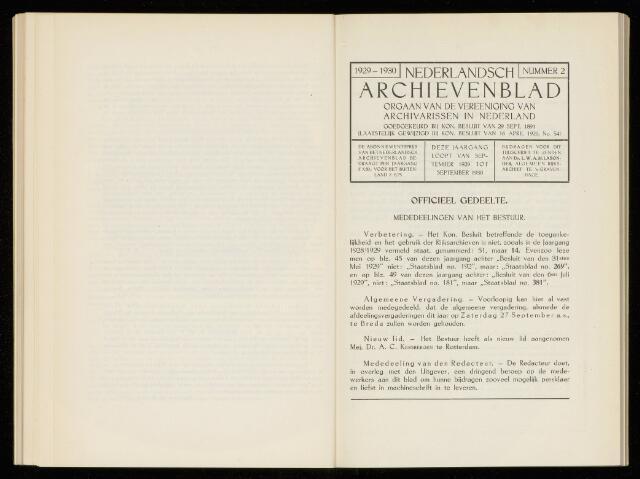 Nederlandsch Archievenblad 1930-07-01