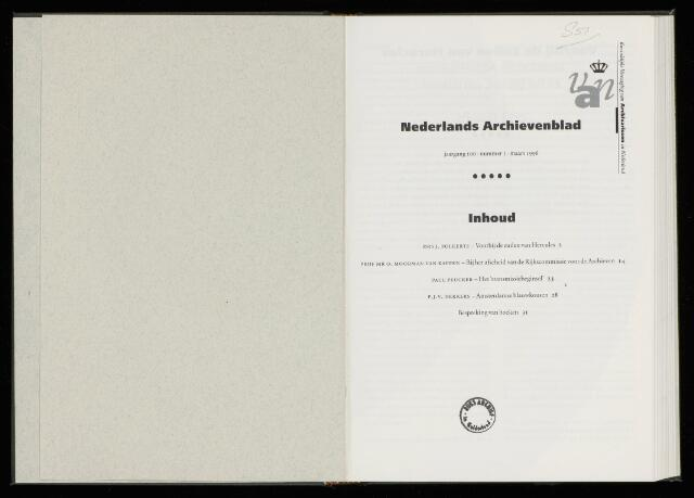 Nederlandsch Archievenblad 1996