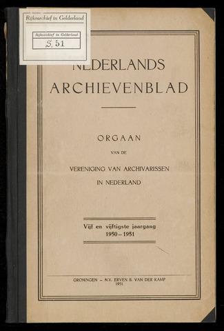 Nederlandsch Archievenblad 1950-11-01