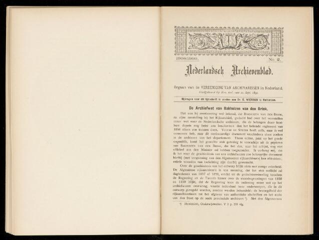 Nederlandsch Archievenblad 1908-09-02