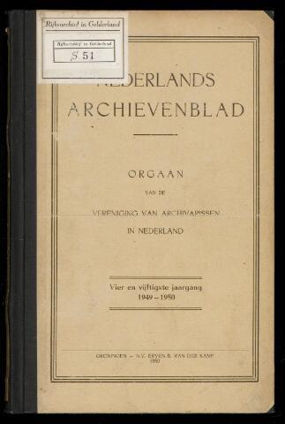 Nederlandsch Archievenblad 1950-01-01